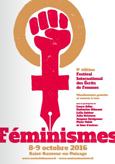 Le 5e Festival international des écrits de femmes consacré aux « féminismes » – 8-9 octobre 2016
