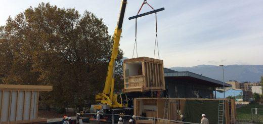 Remontage du prototype Terra nostra à Grenoble
