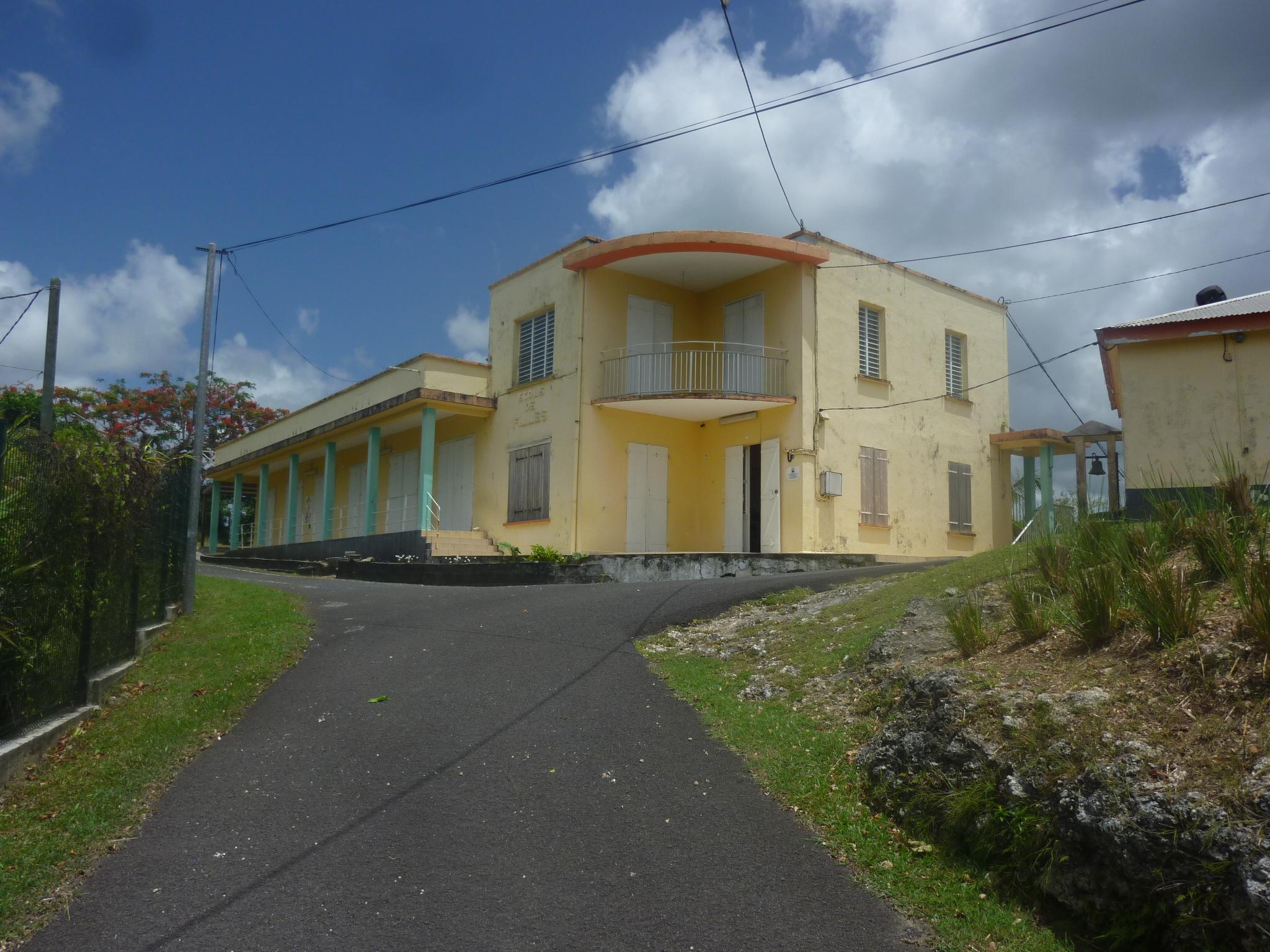 Ali Tur, école des Grands Fonds, Le Moule, Guadeloupe