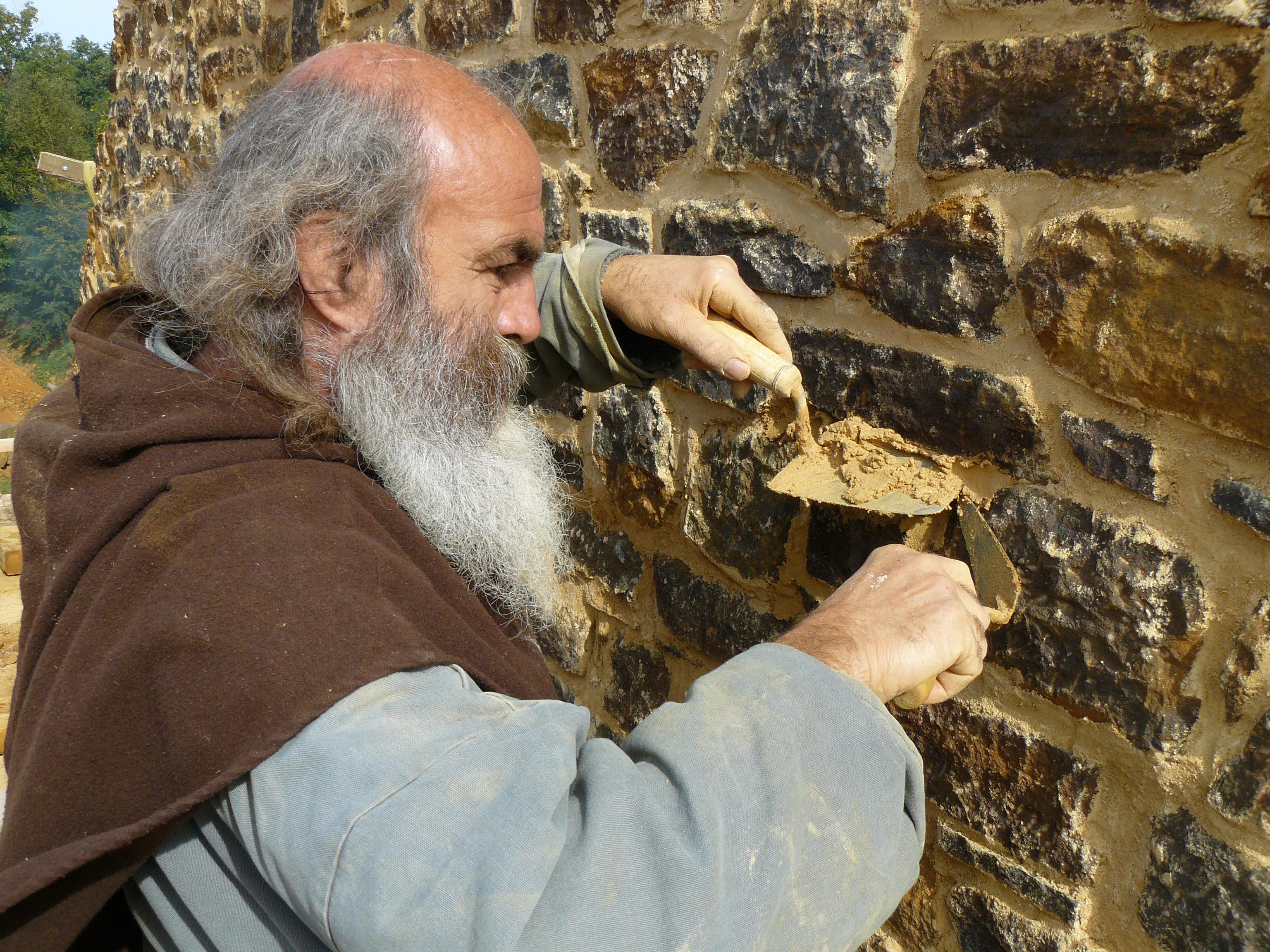 Mise en uvre de la pierre et des mortiers gu delon chantiers de construction - Dosage chaux sable joint ...