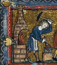 Blacksmith -  Livre du trésor, 1326