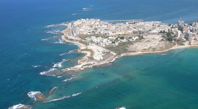 Les grandes étapes de l'histoire urbaine de Tyr (Liban)