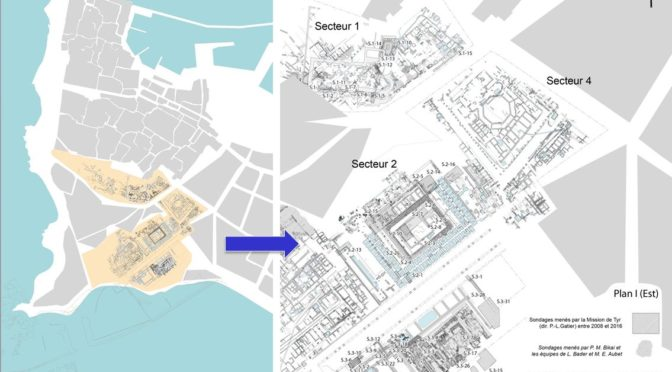La topographie et l'urbanisme de Tyr, de l'âge du Bronze à la période byzantine