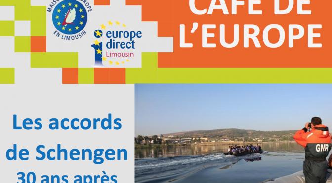 Café de l'Europe : Les accords de Schengen 30 ans après – 9 février 2016