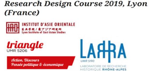 École d'été en histoire économique et sociale : Research Design Course
