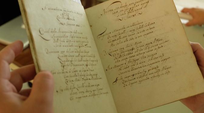 La Bibliothèque Universitaire de Grenoble achète 19 manuscrits italiens