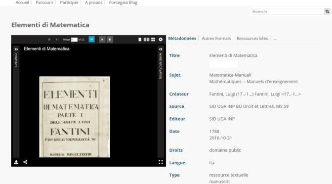 Dans les coulisses de Fonte Gaia #1 : une nouvelle étape pour la bibliothèque numérique !