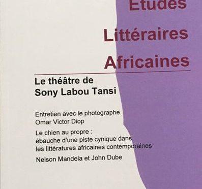 Le théâtre de Sony Labou Tansi – ELA 41
