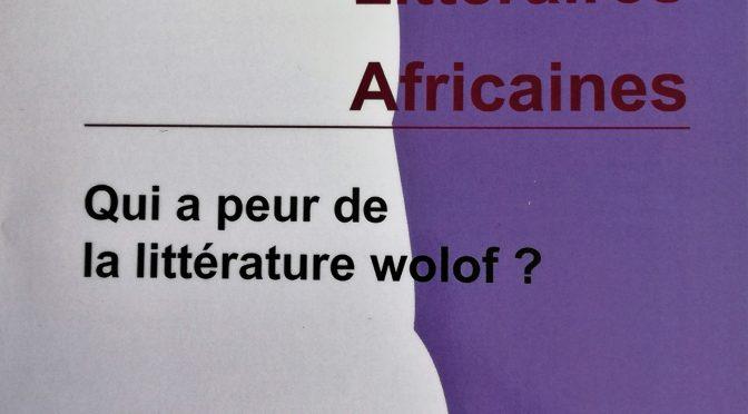 Qui a peur de la littérature wolof ? ELA 46 (2018)