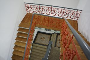 "Treppenaufgang der ""Alten Mensa"" in Göttingen"