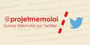 Mémoloi sur Twitter