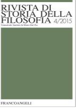 Rivista Storia della filosofia 4.2014
