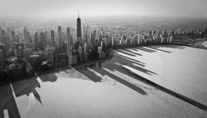 Chicago's Frozen Shadows - CC par Mike Lavoie