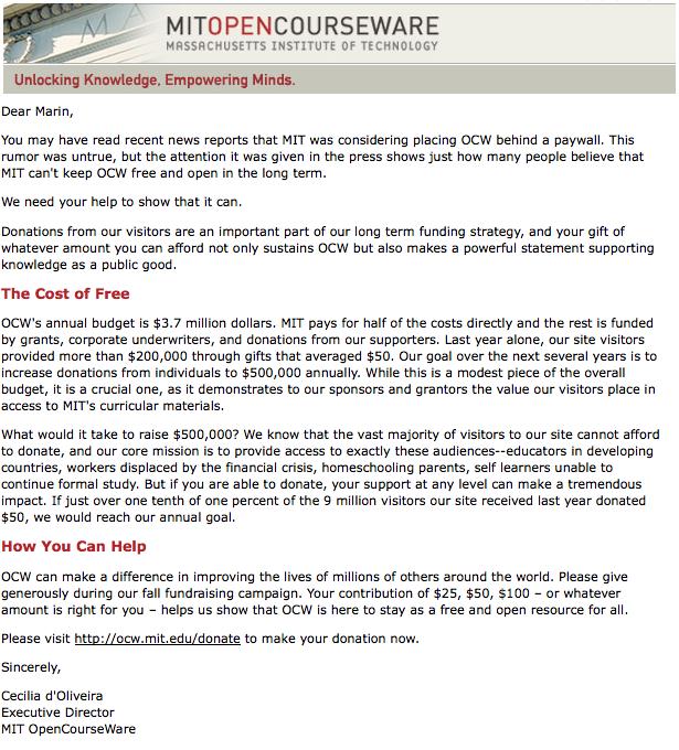 Email MIT