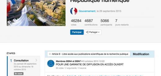 République Numérique   Projet de loi pour une République numérique   Article 9   Libre accès aux publications scientifiques de la recherche publique   POUR UNE GARANTIE DE DIFFUSION EN ACCÈS OUVERT