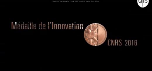 Vidéo médaille de l'innovatin 2016