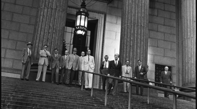 Douze hommes en colère – Architecture du secret du délibéré.
