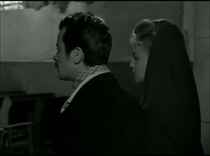 capture d'écran, Casque d'or, Jacques Becker.