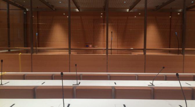 Balade au nouveau tribunal de Paris…