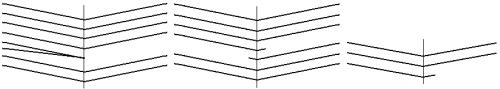 Estructura de los cuadernillos 1, 13 y 17 del ms. 251 de la Universidad de Valladolid