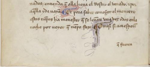 BnF, ms. esp. 286, fol. 9v (detalle)