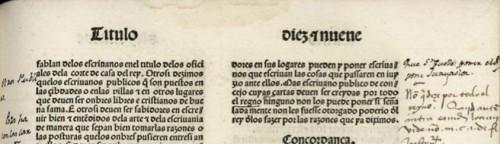 Título corriente del incunable de las Siete Partidas (Sevilla, 1491)