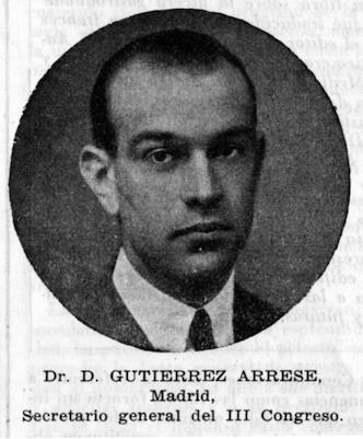 Dámáso Gutiérrez Arrese en 1944Foto: © Real Academia Nacional de Medicina
