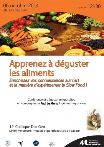 Affiche Slow Food