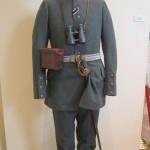 Feld-Uniform eines Hauptmanns zu Beginn des Ersten Weltkriegs (Ausmarschuniform)<br /> Preu&szlig;enMuseum Wesel