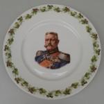 Porzellanteller mit Hindenburg-Motiv<br /> Privatbesitz