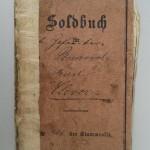 Soldbuch des Gefreiten Karl Clever, Dattenberg<br /> Privatbesitz Kramer, Dattenberg