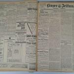 Linzer Zeitung vom 10. November 1914<br /> Stadtarchiv Linz am Rhein