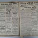 Rhein-und-Wied-Zeitung vom 4. August 1914<br /> Stadtarchiv Linz am Rhein