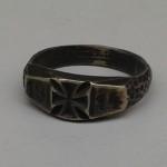 """Ring, vermutlich aus der Sammelaktion """"Gold gab ich f&uuml;r Eisen""""<br /> Privatbesitz Hoppen, Linz"""