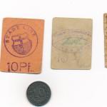 Linzer Notgeld aus der Kriegszeit<br /> Stadtarchiv Linz am Rhein