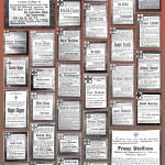 Todesanzeigen<br /> Linzer Zeitung / Rhein-und-Wied-Zeitung,<br /> Stadtarchiv Linz am Rhein