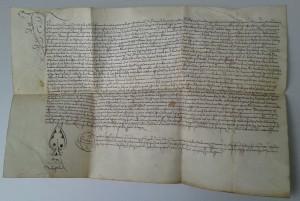 Notariatsinstrument des Johannes Hess, 1480