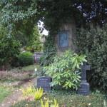 Das Grab Walther Felds auf dem evangelischen Friedhof in Linz, 2014