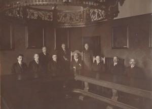 Mitglieder der Stadtverwaltung, 1920er Jahre