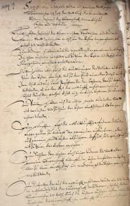 Achterinstruktion, 1649 Die Punkte 1-7 regeln u.a. die Aufsicht der Achter über das Rechnungs-, Finanz- und Bauwesen der Stadt
