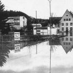 Hochwasser 23.12.1993, Alte Post<br /> Foto: Feuerwehr Linz
