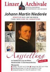 Plakat Niederée