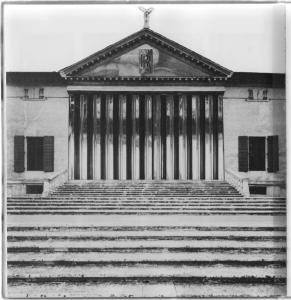 Leonardo Bezzola: Villa Silver Ghost Badoer, Fotomontage, 1983.