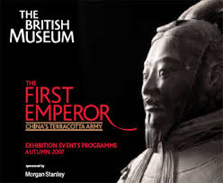 Poster for the 'First Emperor' exhibition, British Museum (2007-8)