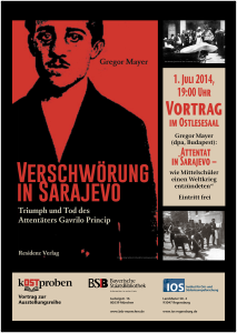 Plakat Vortrag Sarajevo