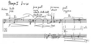 Figure 3 : Gervasoni, Terzo paesaggio senza peso, p.1