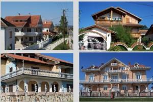 Gastarbeiter houses in east Serbia