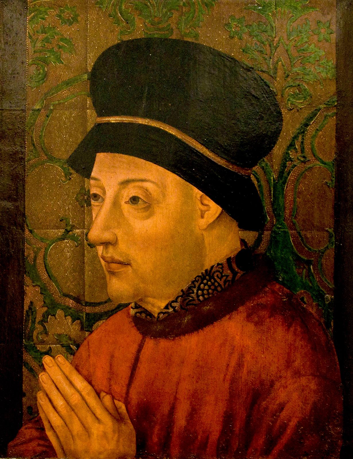 D. João I, rei de Portugal Autor desconhecido Século XV 1434 d.C. - 1450 d.C. Lisboa, Museu Nacional de Arte Antiga