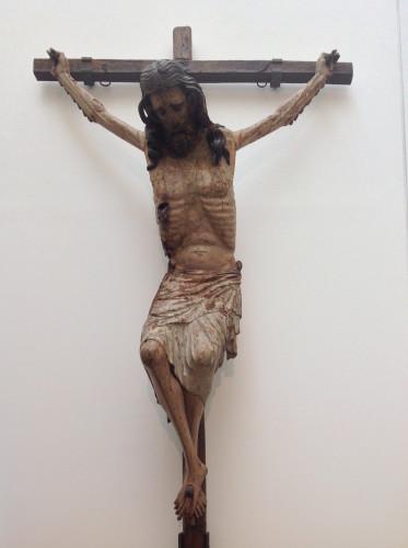 Cristo Negro Autor desconhecido 1375 – 1390 Escultura em madeira policromada Coimbra, Museu Nacional Machado de Castro Foto: MIR, 2013