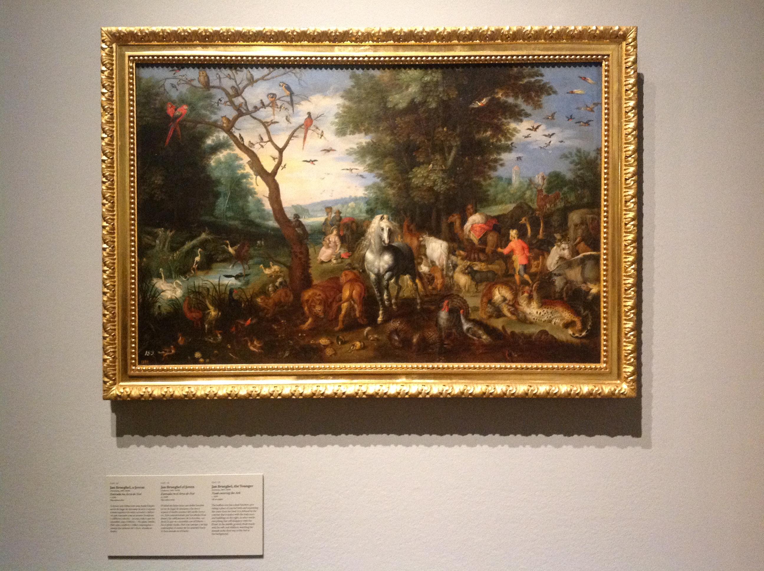 """Exposição """"Rubens, Brueghel, Lorrain"""": museografia Fotos: MIR, 2004"""